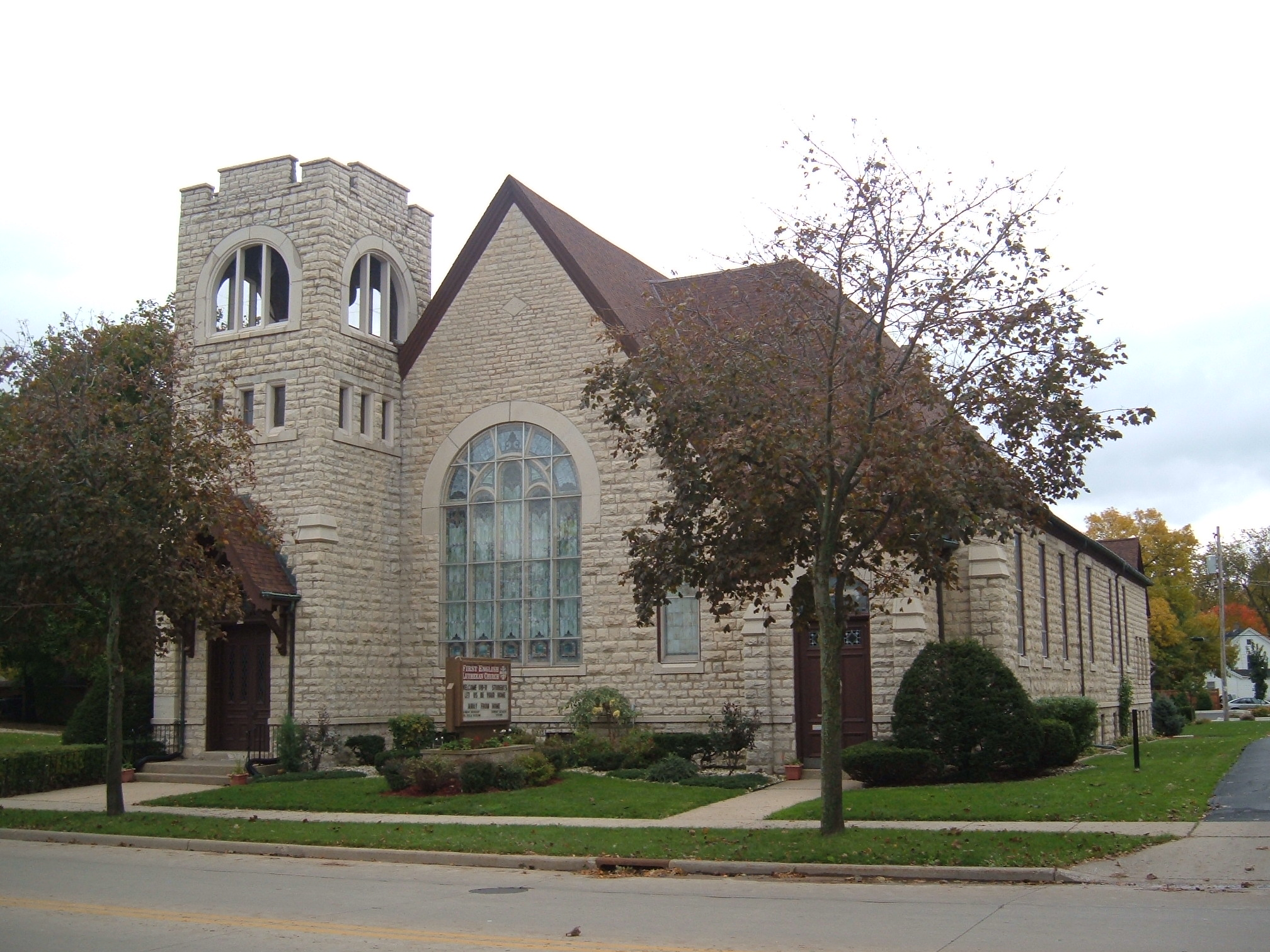 First English Lutheran Church, Whitewater, Wisconsin