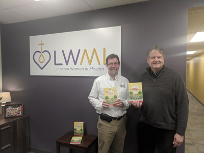 LHF visits LWML office