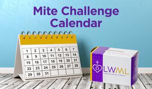 calendar with mite box