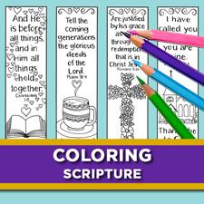 Coloring Scripture