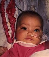 Sierra as a baby