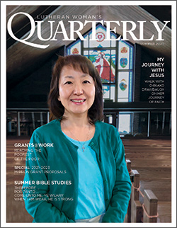 Read Lutheran Woman's Quarterly online