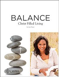 Balance — Christ Filled Living Bible study cover image