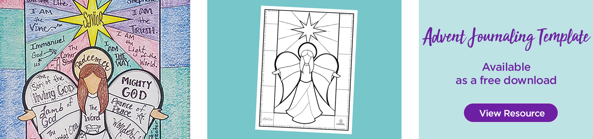 Advent Journaling Template. View Resource.
