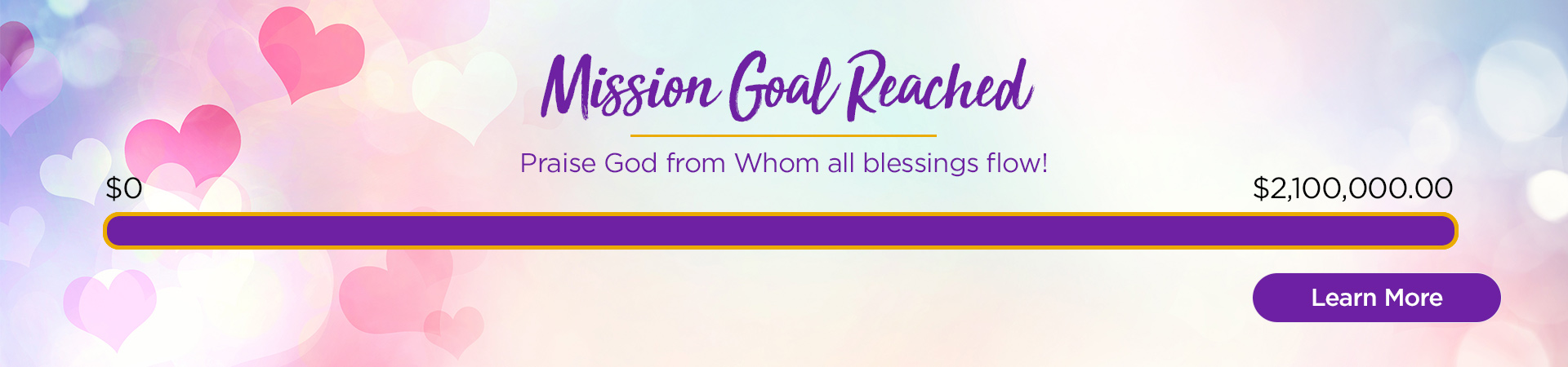 LWML Reaches 2019-2021 Mission Goal!