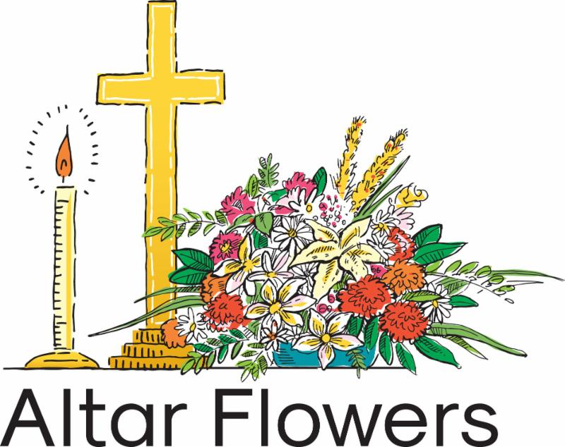 Image result for altar flowers clipart