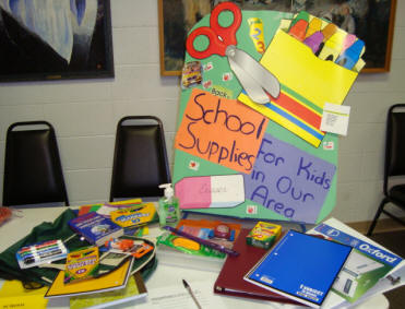 school supplies ministry