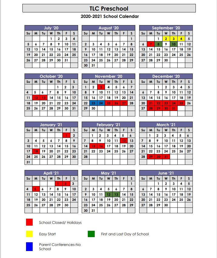Images of 2021 Lutheran Church Calendar