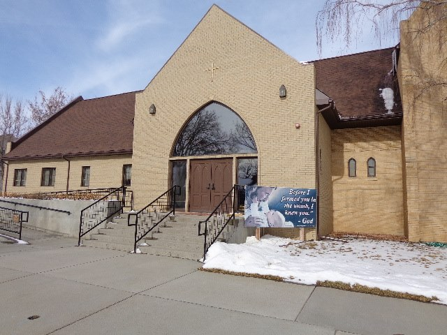 Trinity Lutheran Church Entrance